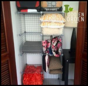 organización de closets