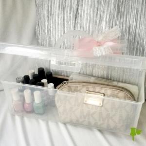 manicure and pedicure caddy