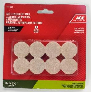 fieltro almohadillas felt pads ACE todo en orden RD